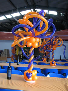 twisty tall centerpiece
