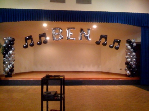 Dress up a stage with a little bling
