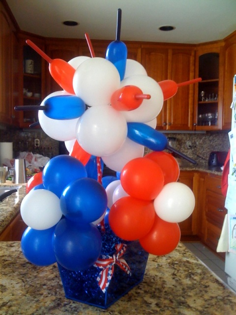 4th of July Fireworks Centerpiece